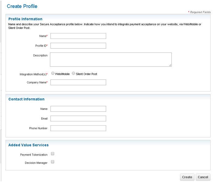Add or Edit a Merchant Account